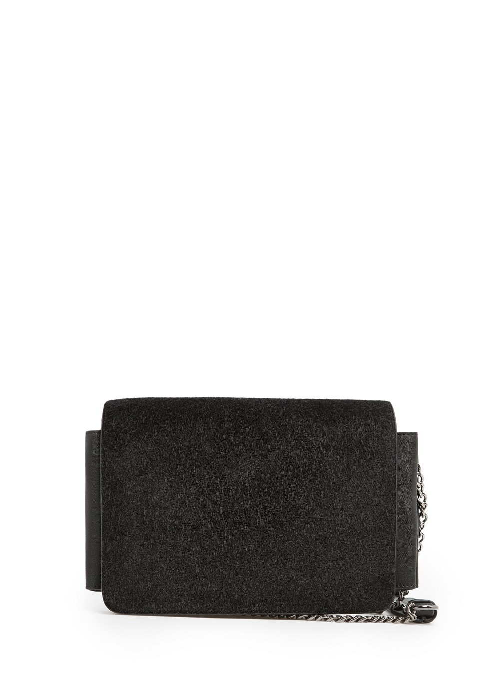 Faux fur shoulder bag | MANGO