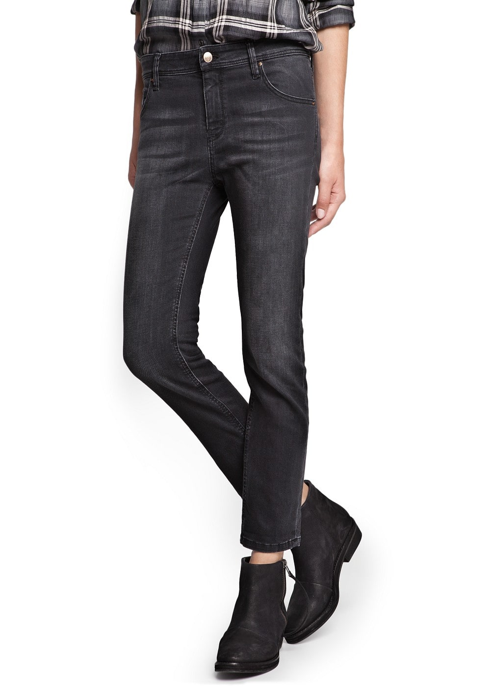 Slim fit boyfriend-jeans | MANGO