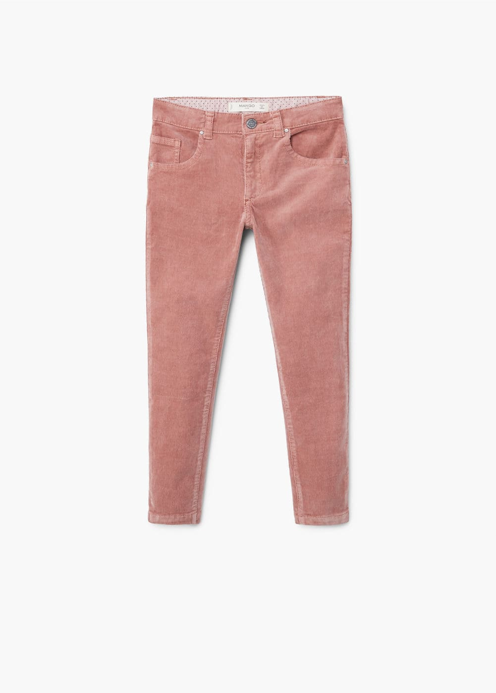 Slim-fit corduroy trousers | MANGO