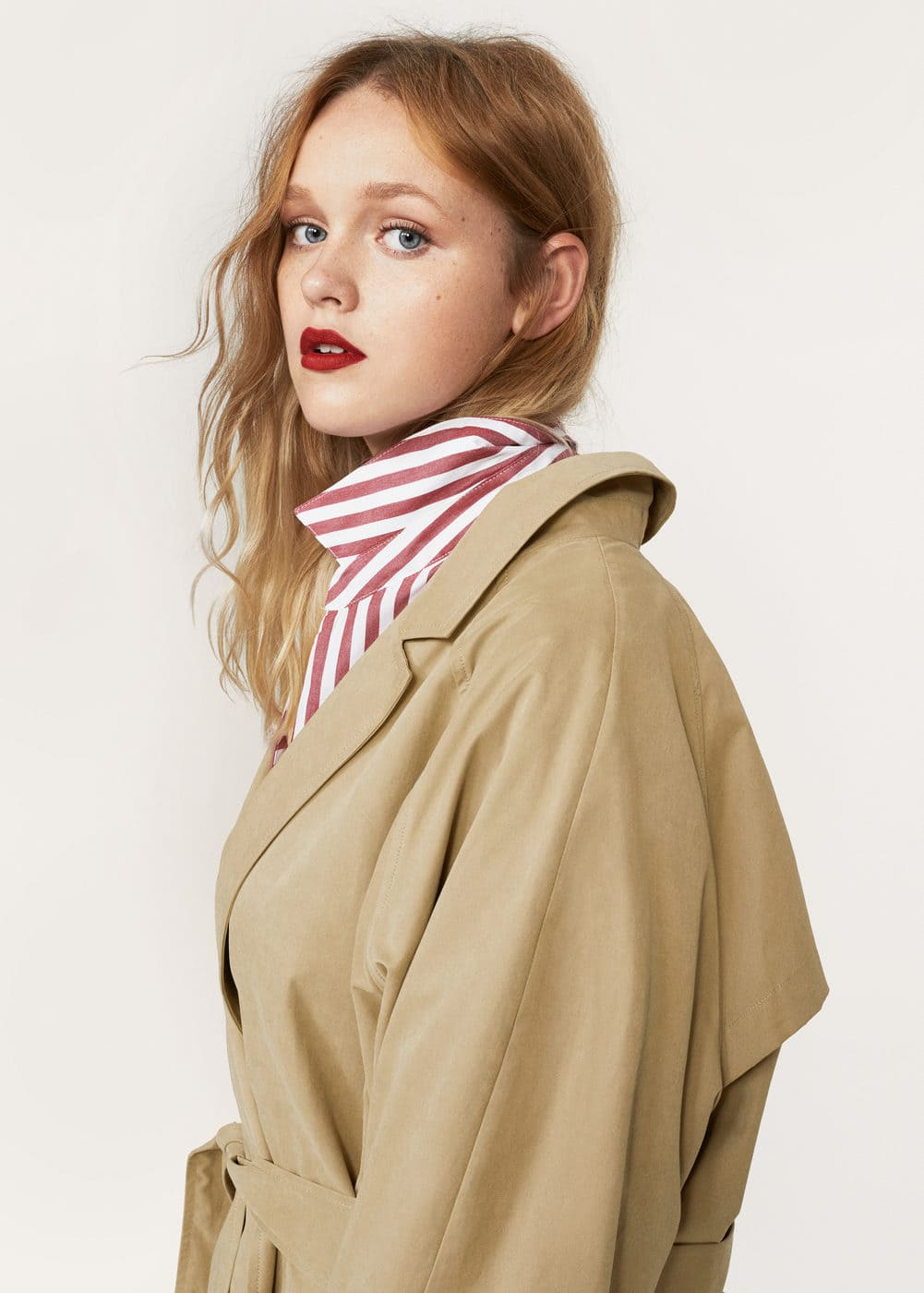 Classic belted trench | MANGO
