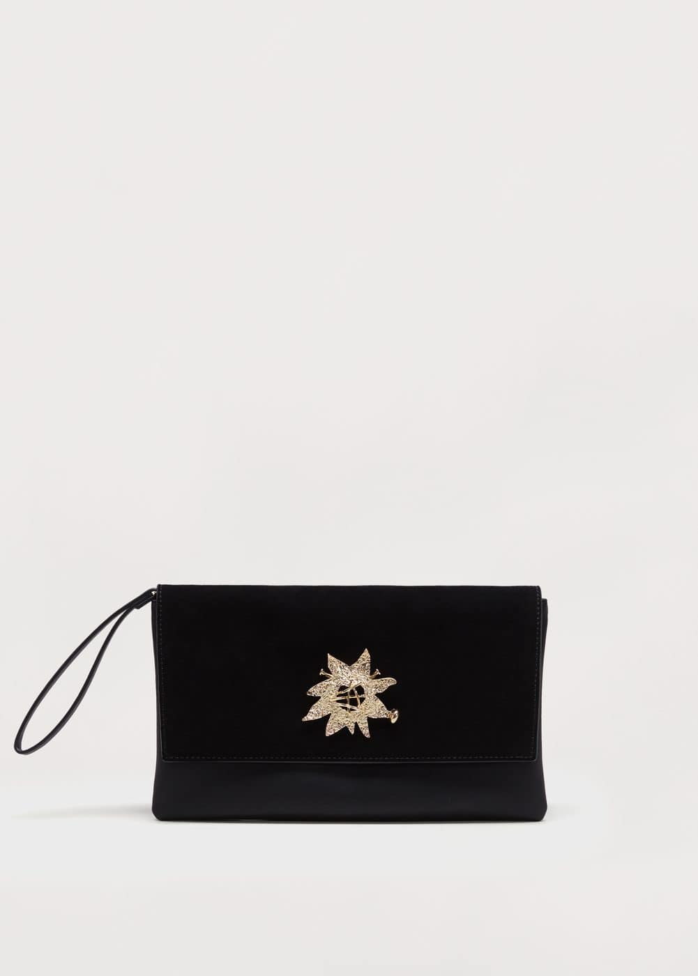 Metal appliqué bag | MANGO