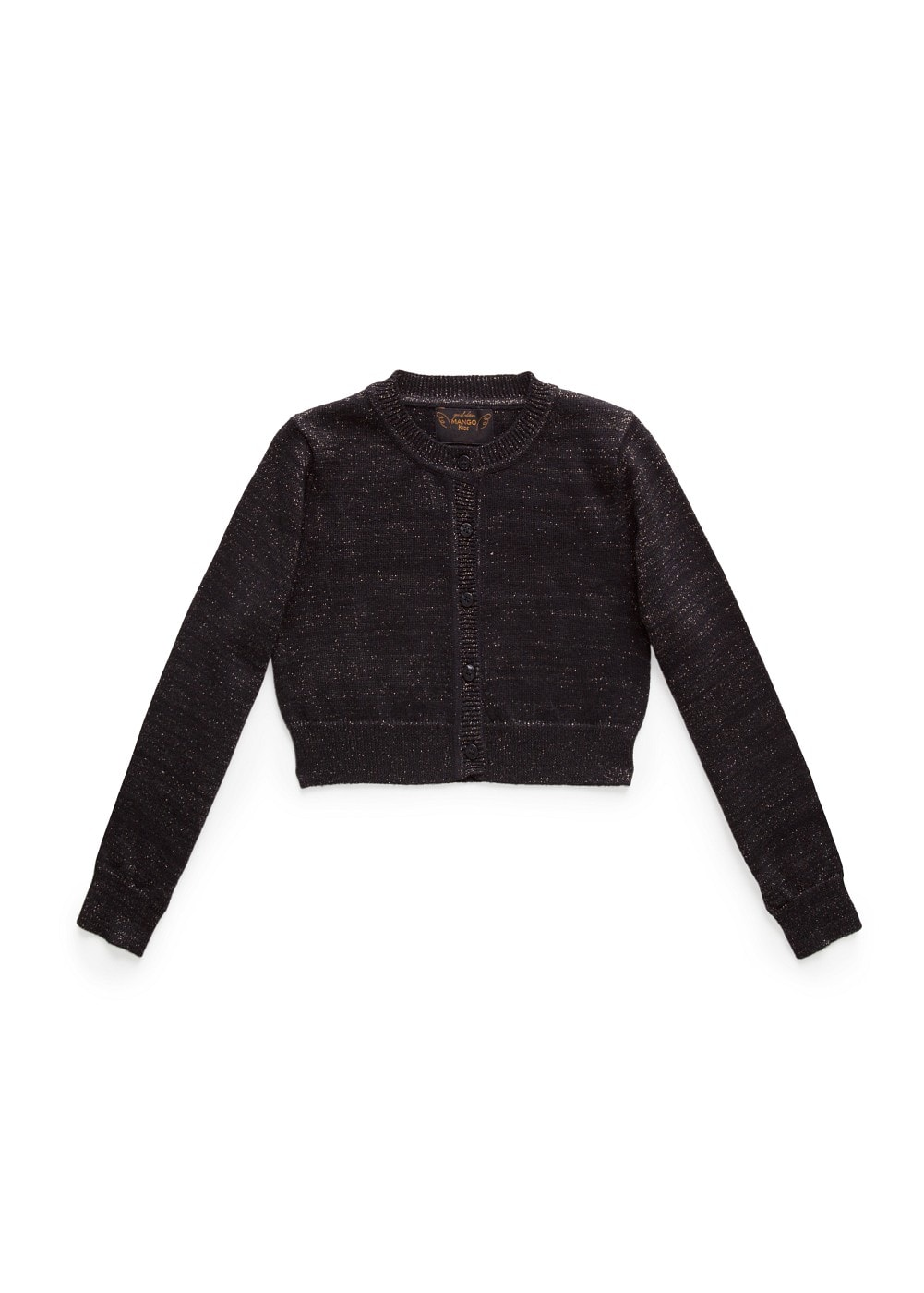 Metallic knit bolero | MANGO KIDS
