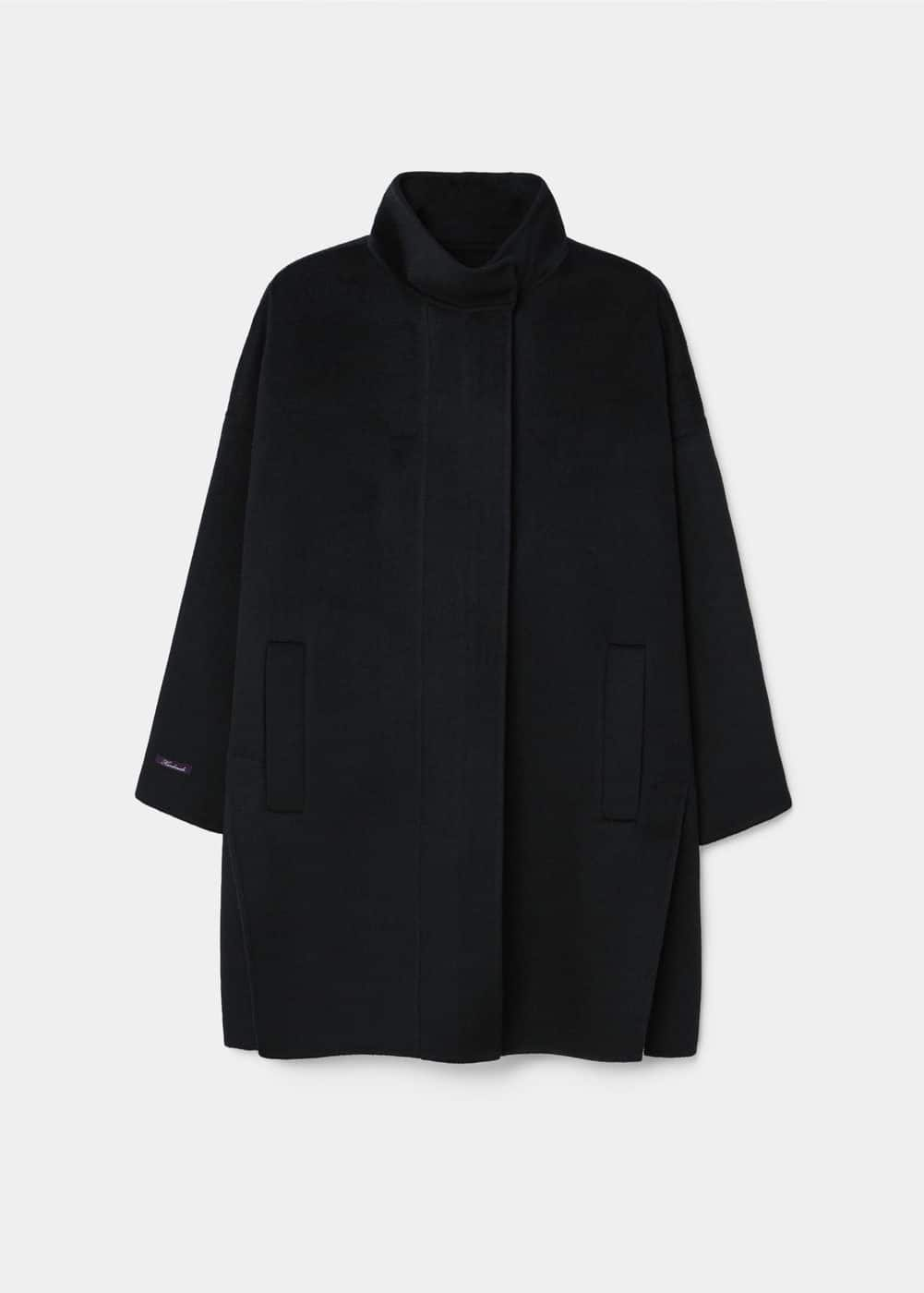 Side openings coat | MANGO