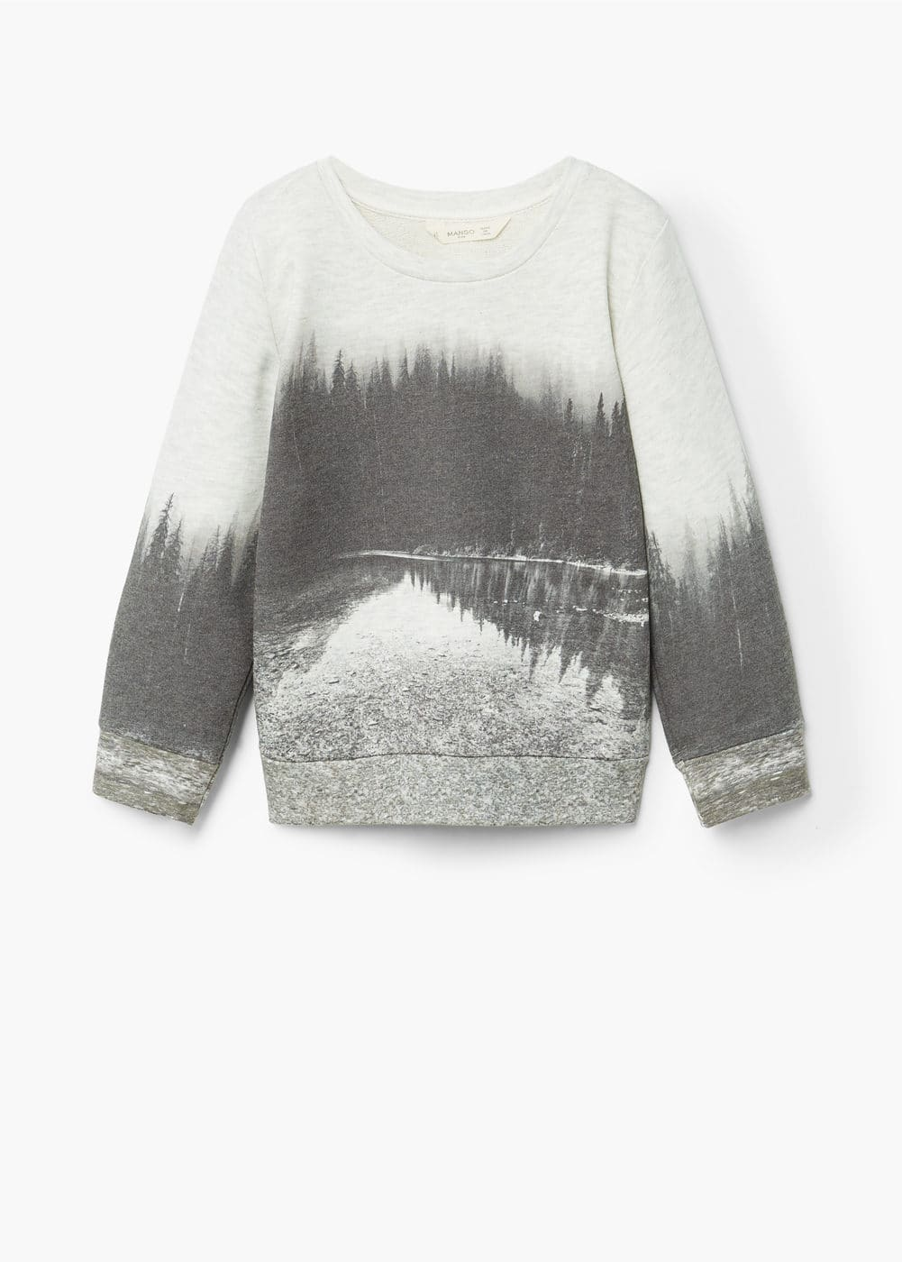 Image cotton sweatshirt | MANGO