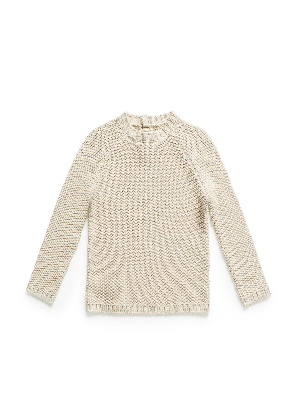 Reverse knit sweater | MANGO KIDS