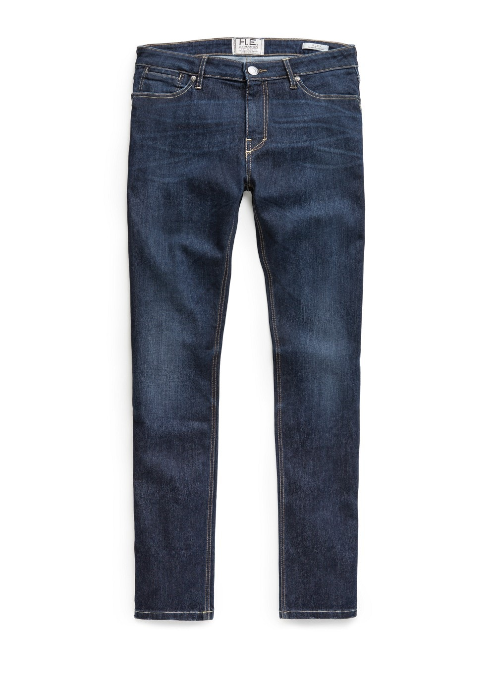 Jeans alex slim-fit lavado oscuro | MANGO MAN