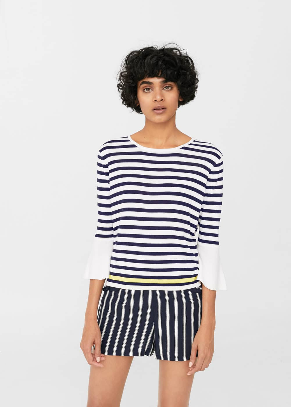Stripe pattern sweater | MANGO