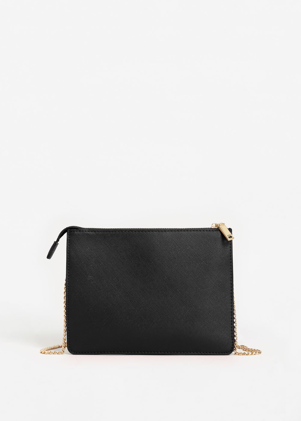 Saffiano-effect cross-body bag | MANGO