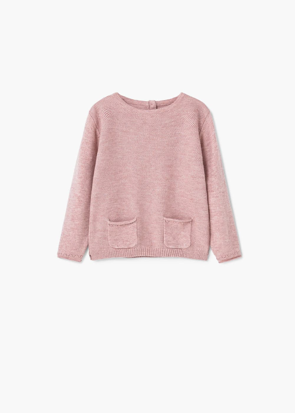 Knit pockets sweater | MANGO