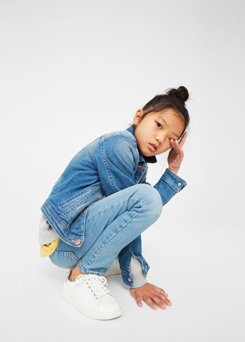 Denim jacket | MANGO KIDS