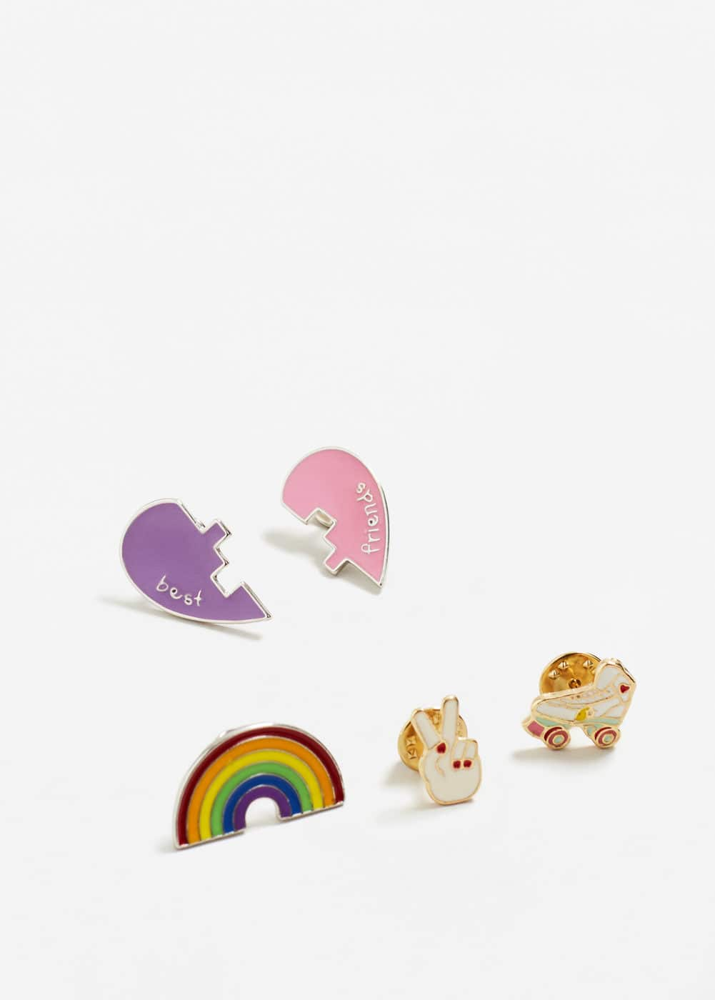 Brooch clasp set | MANGO KIDS