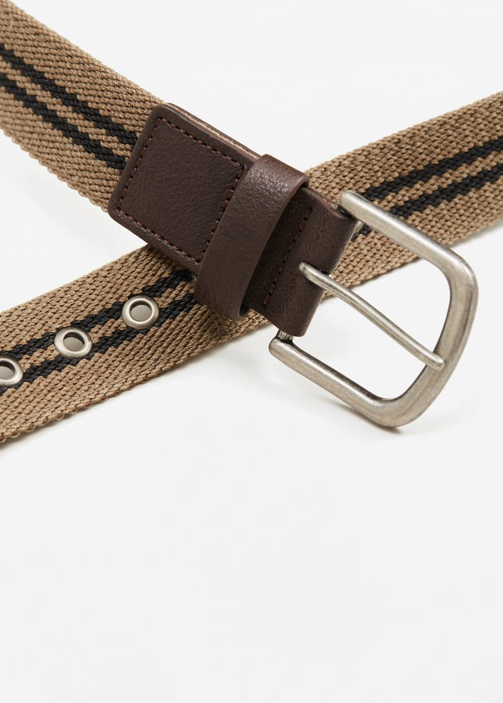 Striped belt | MANGO