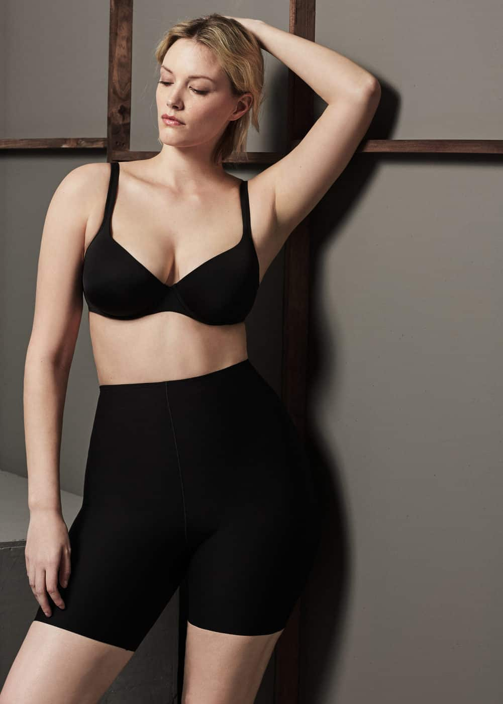 High-waist shape leggings | VIOLETA BY MNG