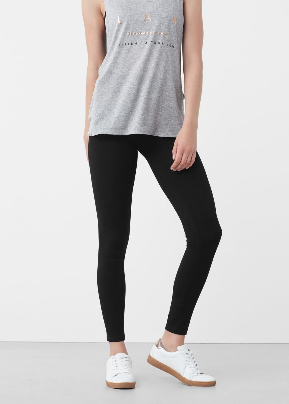 Slimming effect leggings | MANGO