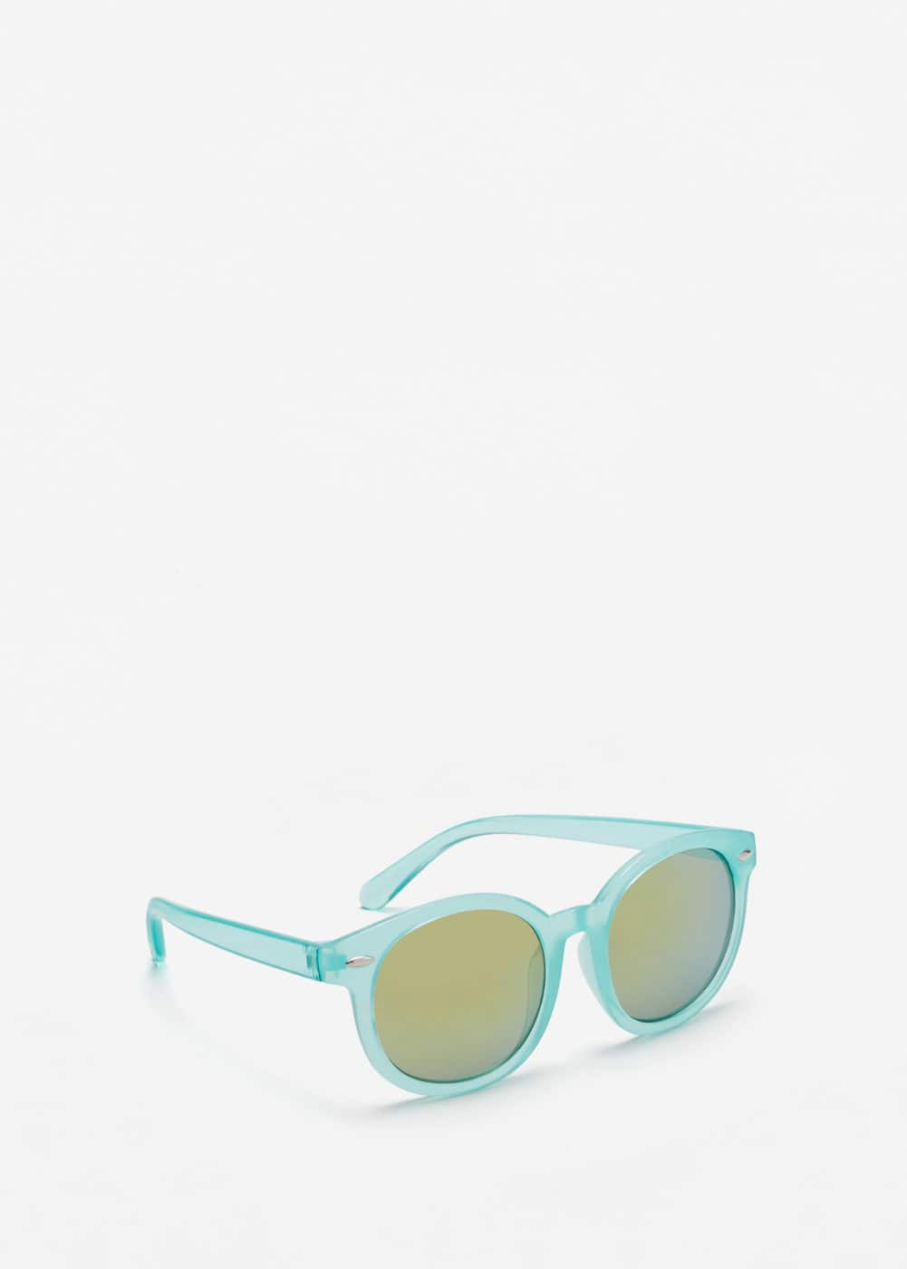Round mirrored sunglasses | MANGO KIDS