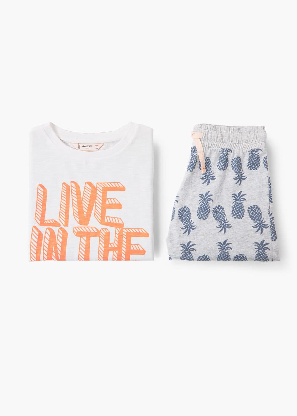 Printed short pyjamas | MANGO
