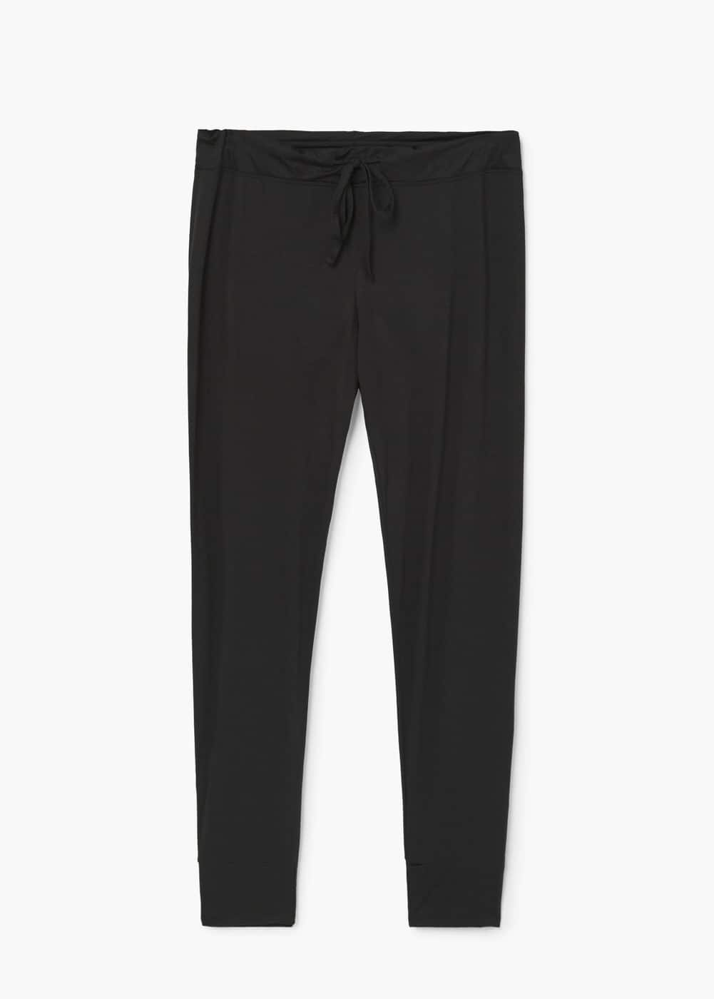 Flowy jogging trousers | MANGO