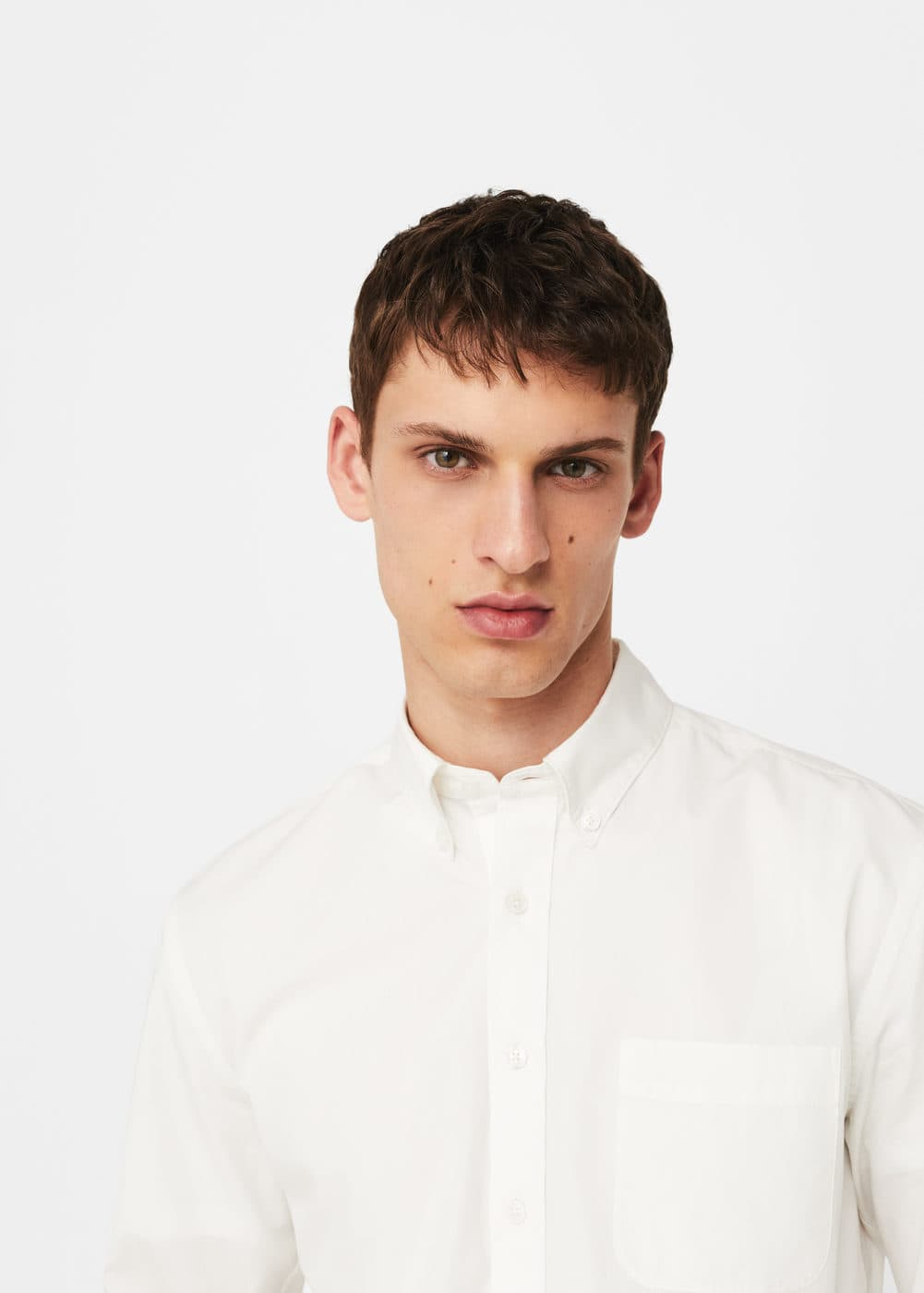 Camisa regular-fit cotó | MANGO