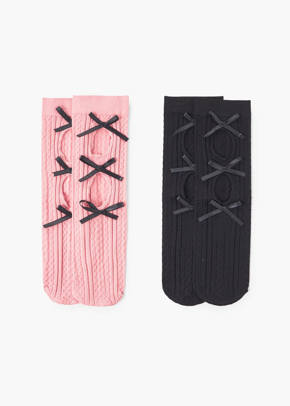2 pack patterned socks | MANGO
