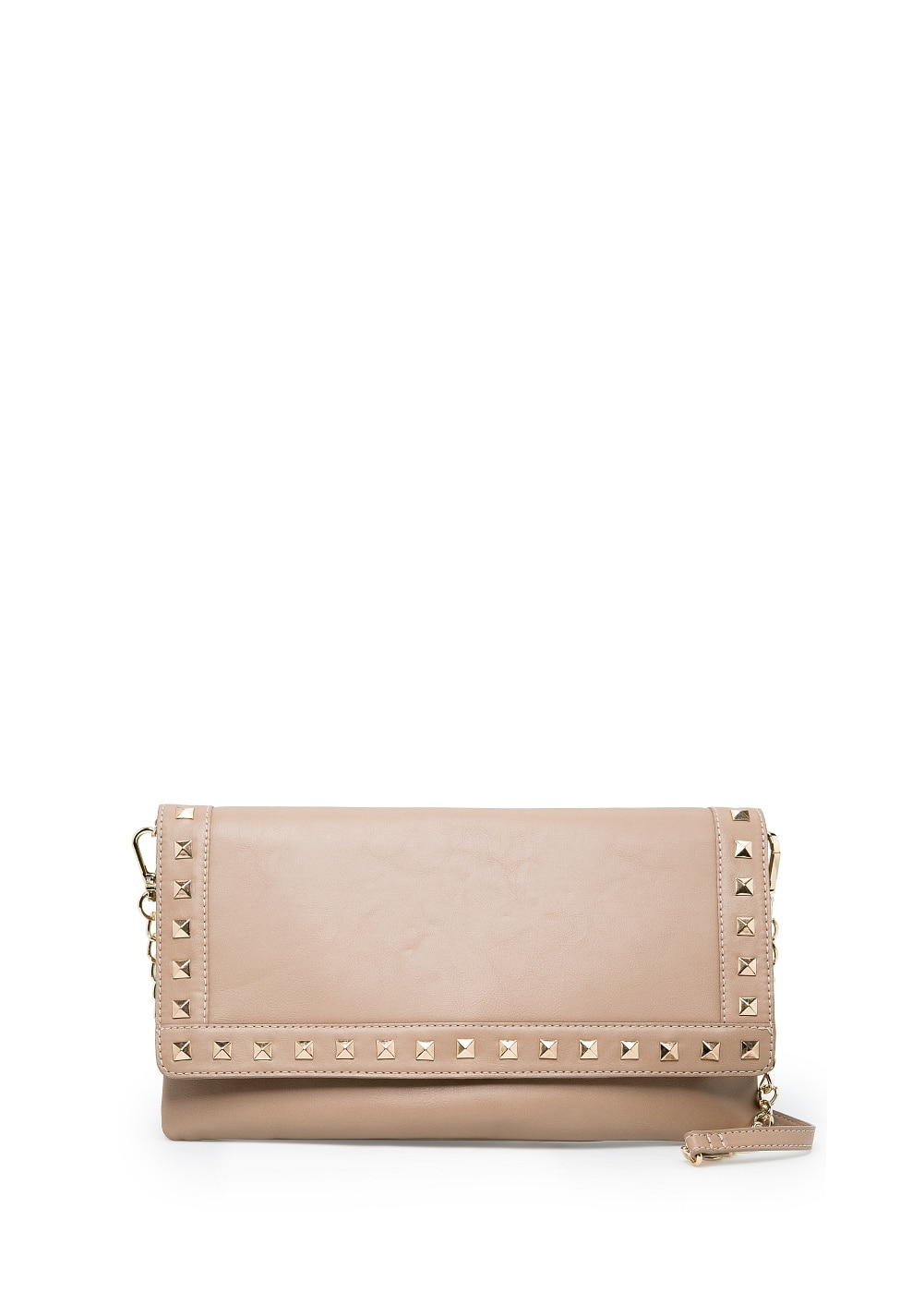 Studded flap clutch | MANGO
