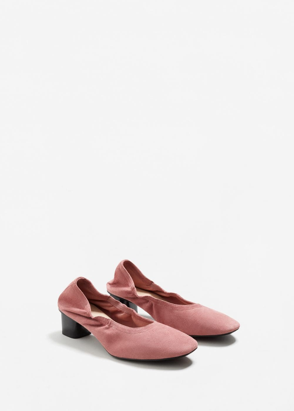 Elastic leather shoes | MNG