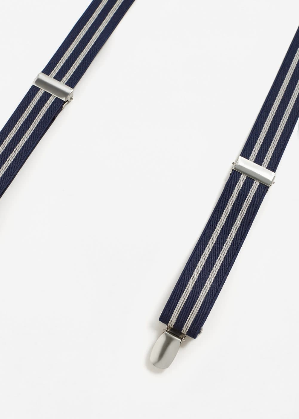 Striped braces | MANGO