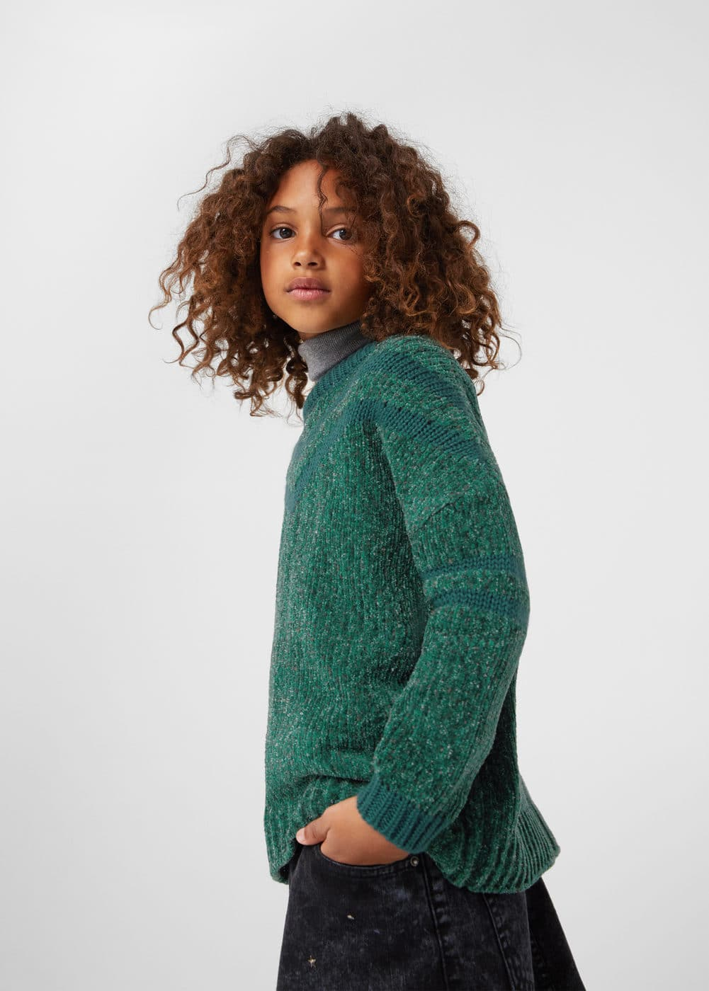 Soft ribbed sweater | MANGO