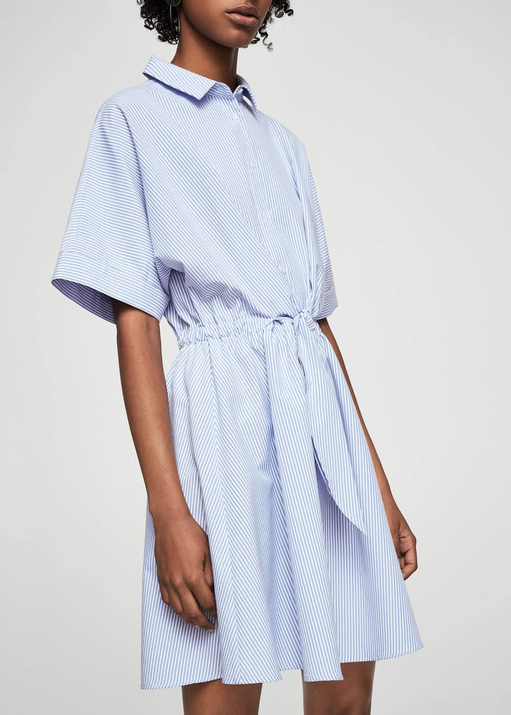 Belt shirt dress | MANGO