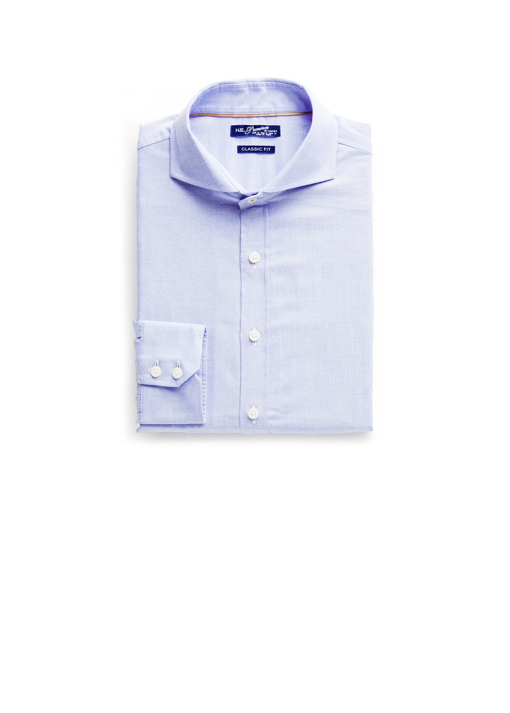 Straight-fit premium oxford shirt | MANGO