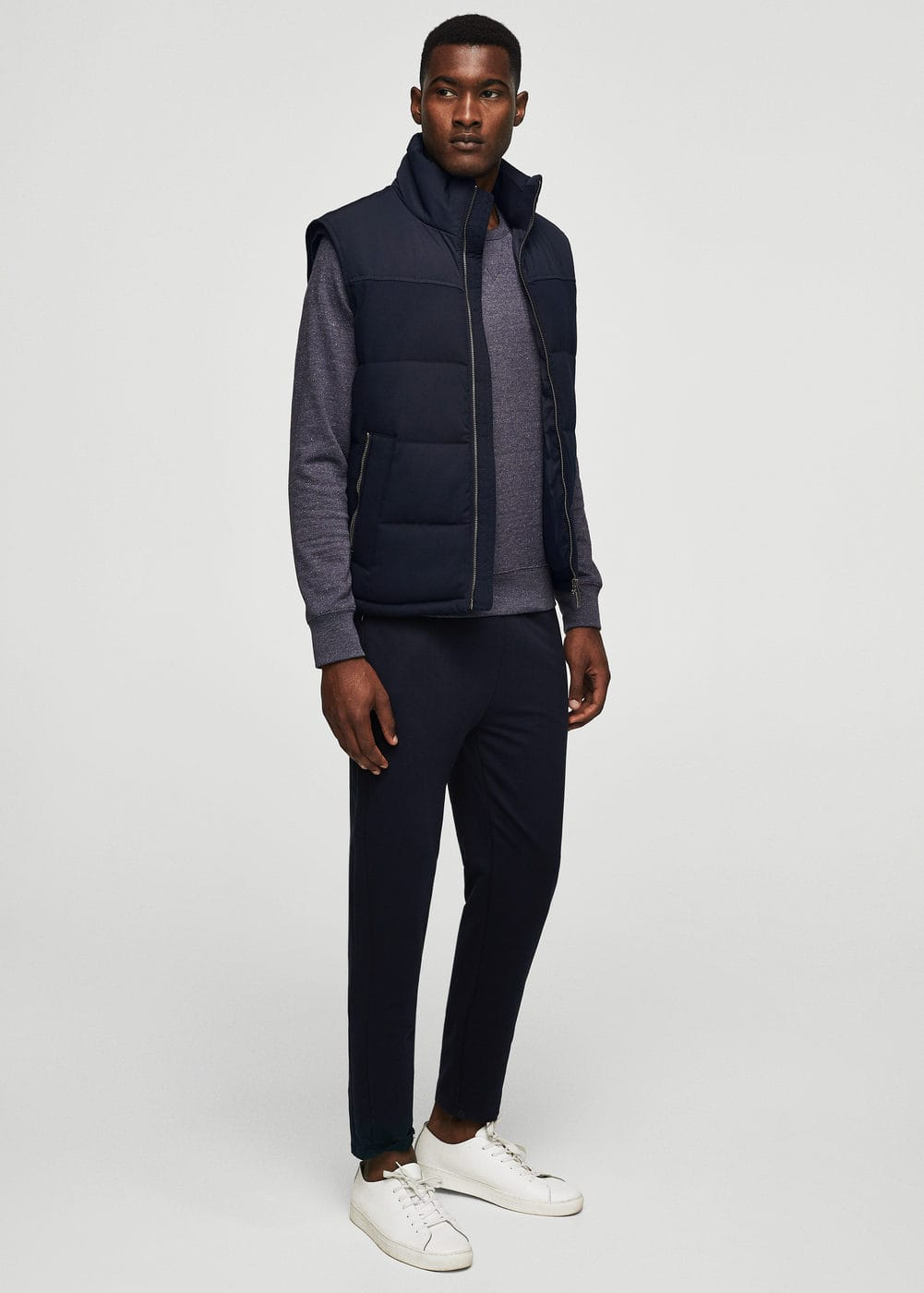 Water-repellent quilted gilet | MANGO