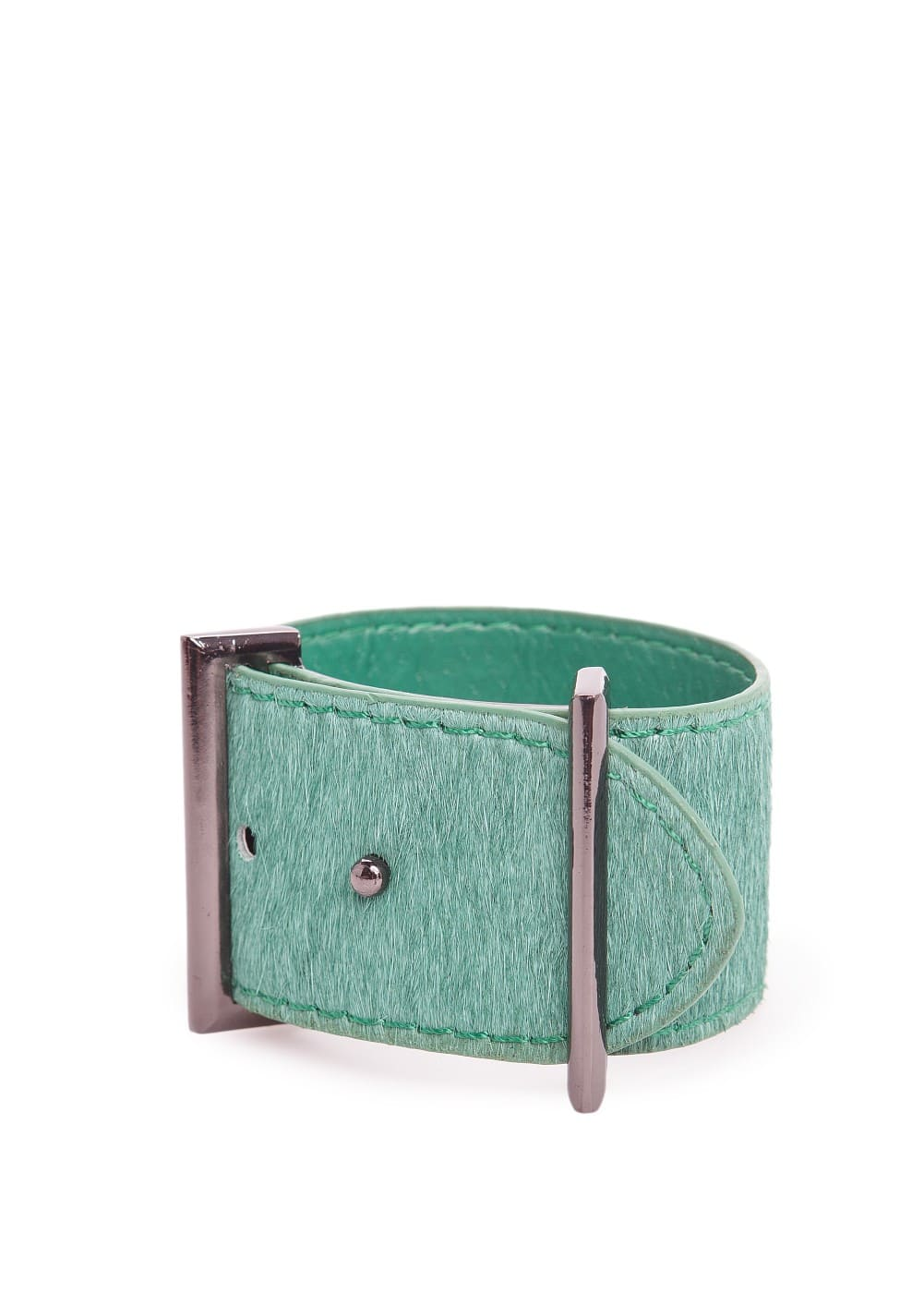 Fur buckle cuff | MANGO