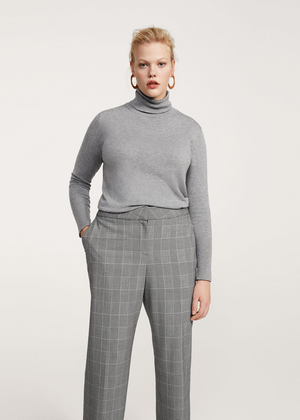 Prince of wales trousers | VIOLETA BY MANGO