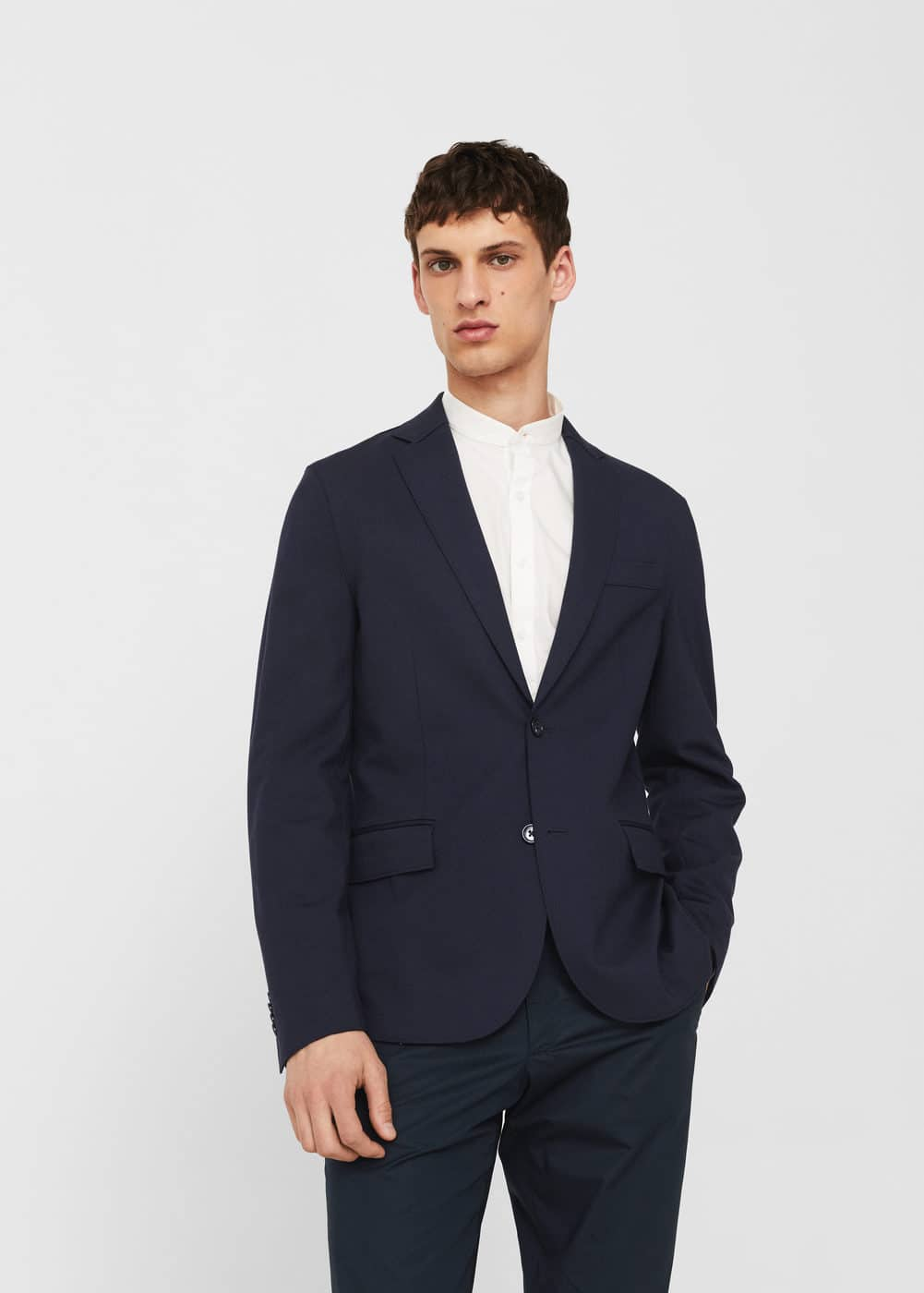 Slim-fit unstructured blazer | MANGO
