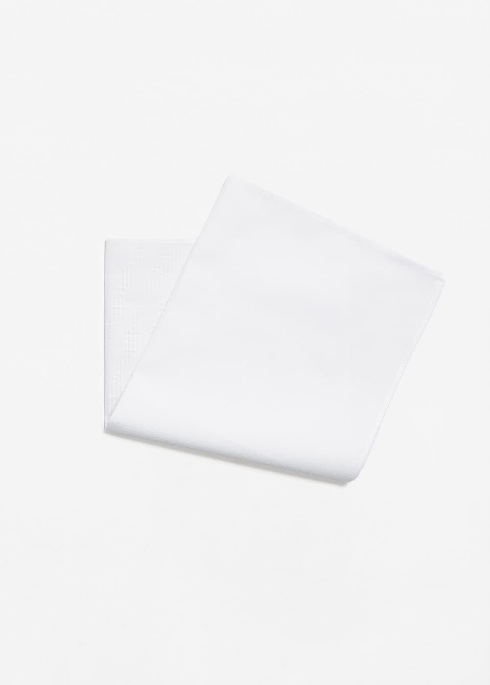 Cotton pocket square | MANGO