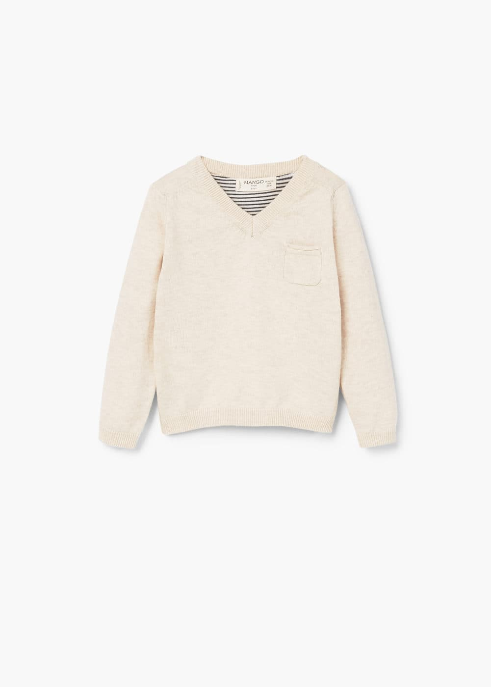 Fine-knit sweater | MANGO KIDS