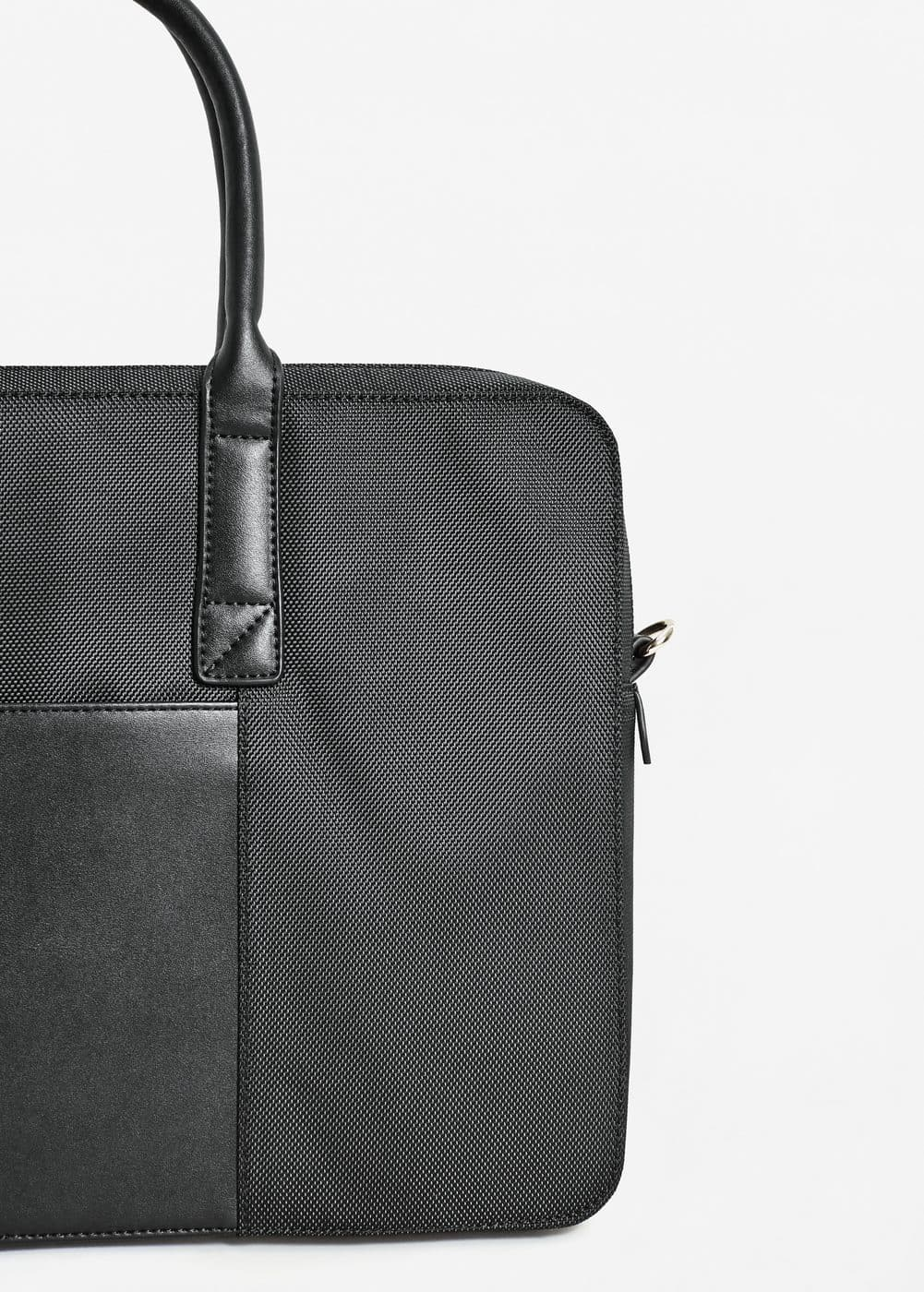 Saffiano-effect briefcase | MANGO MAN