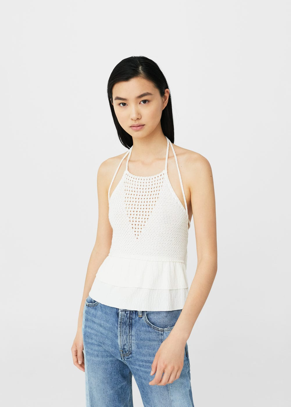 Crochet top | MANGO