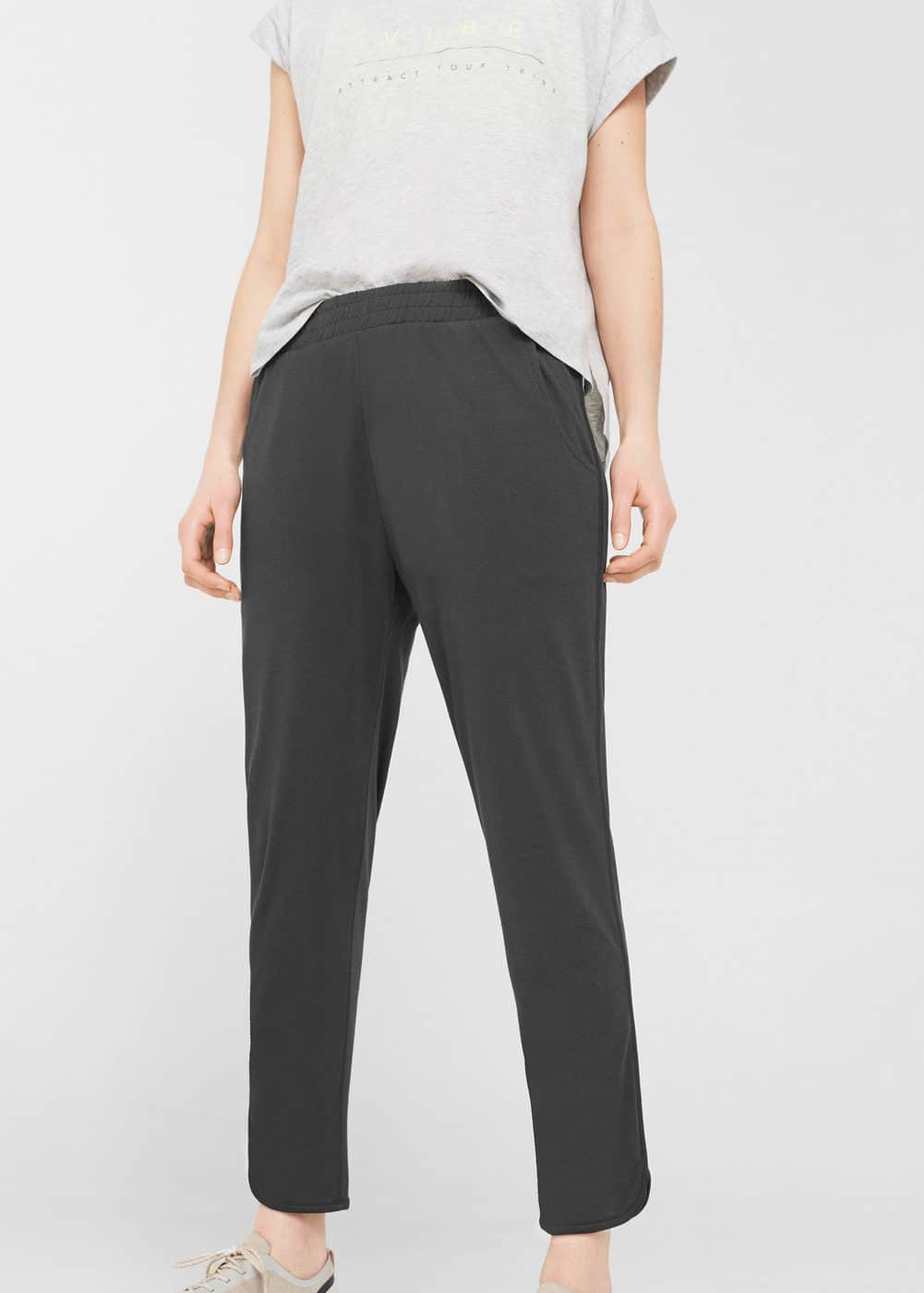 Ring modal trousers | MANGO