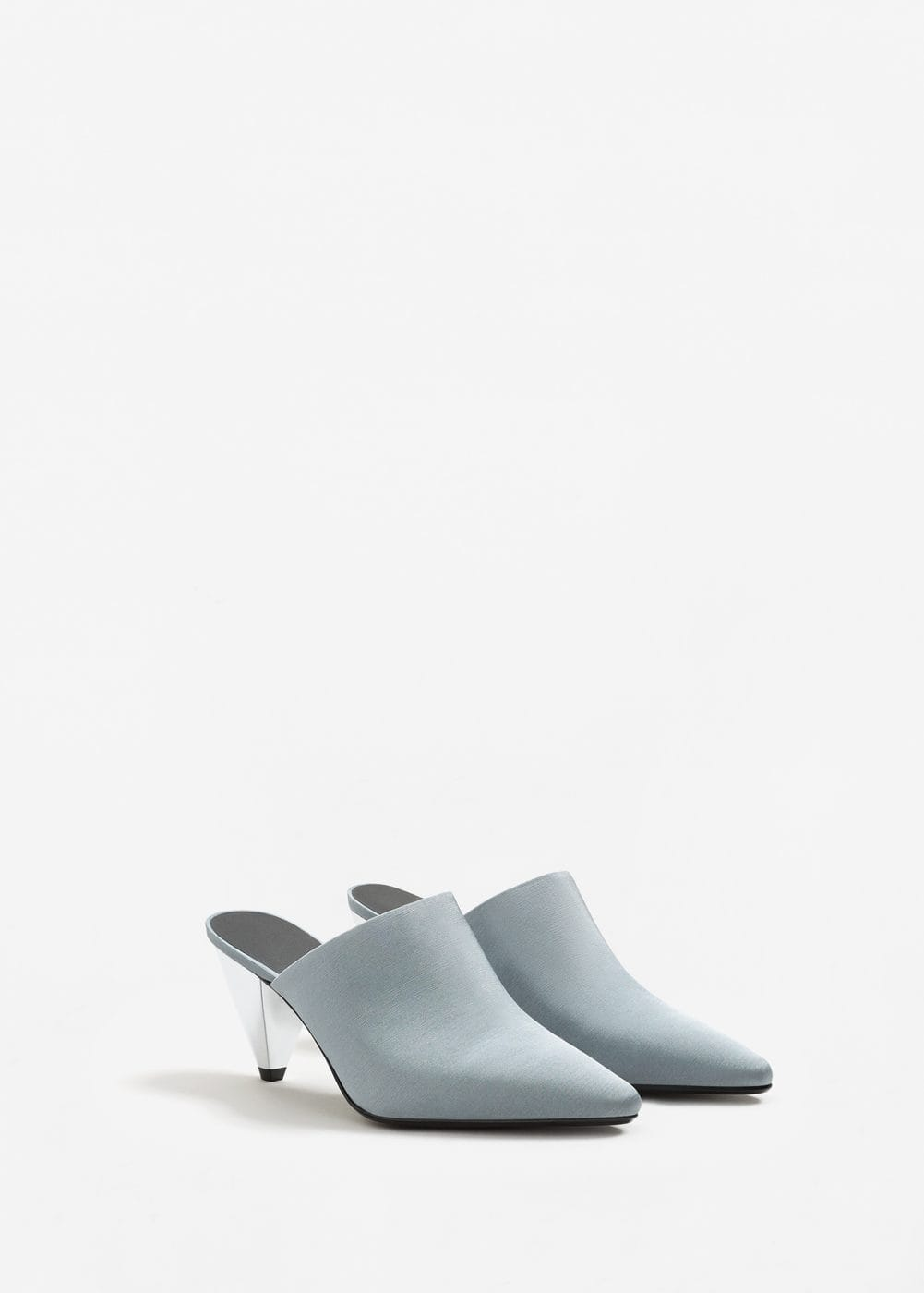 Geometric heel shoes | MANGO