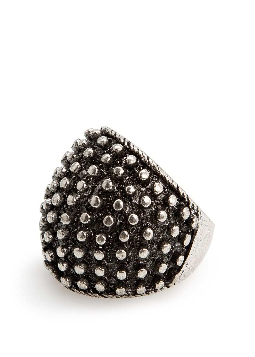 Embossed ring | MANGO