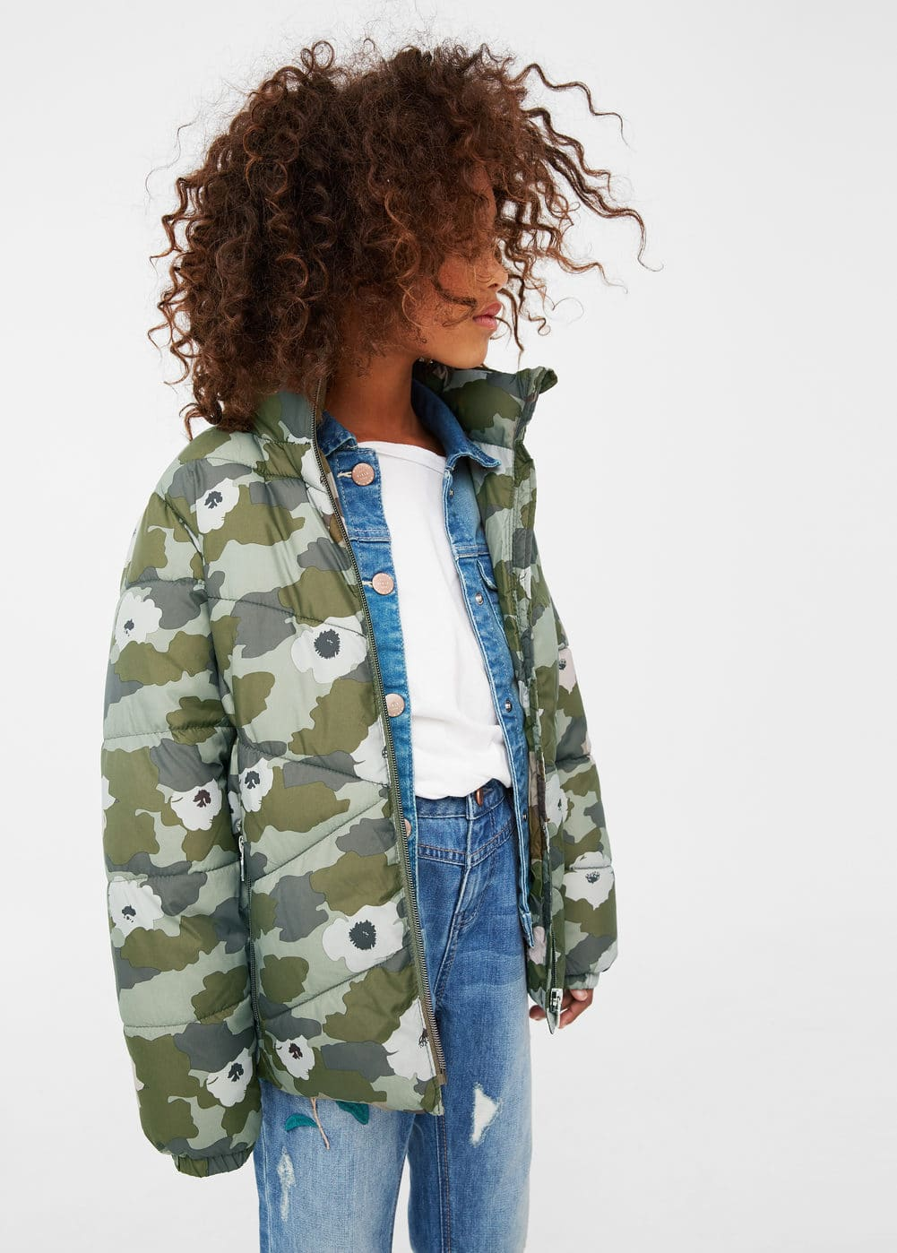 Wasserdichter steppanorak | MANGO KIDS