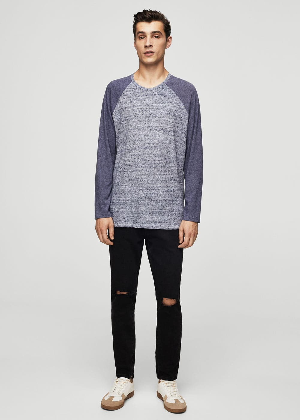 Samarreta màniga raglan | MANGO
