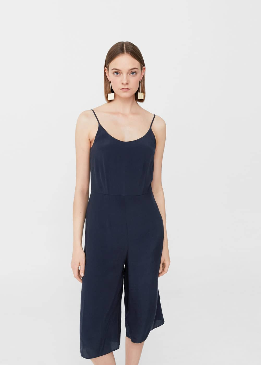Spaghetti strap jumpsuit | MNG