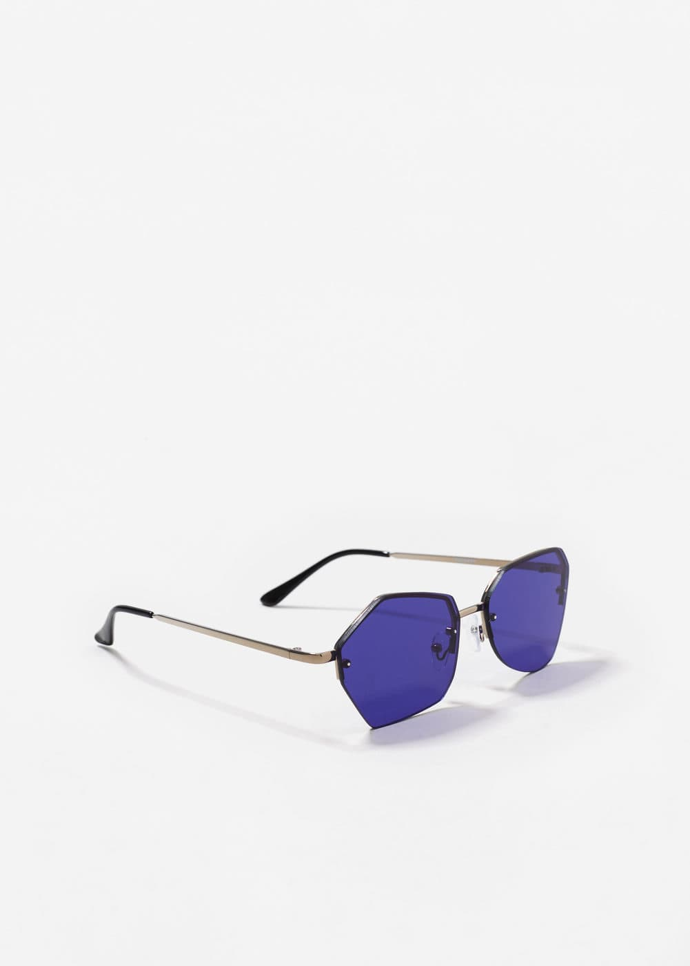 Irregular crystals sunglasses | MANGO