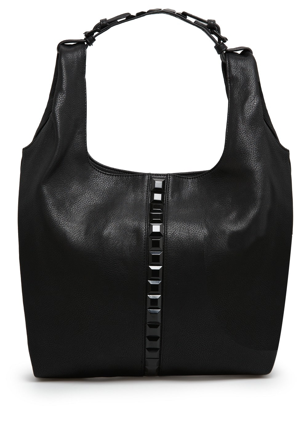 Maxi-stud hobo bag | MANGO