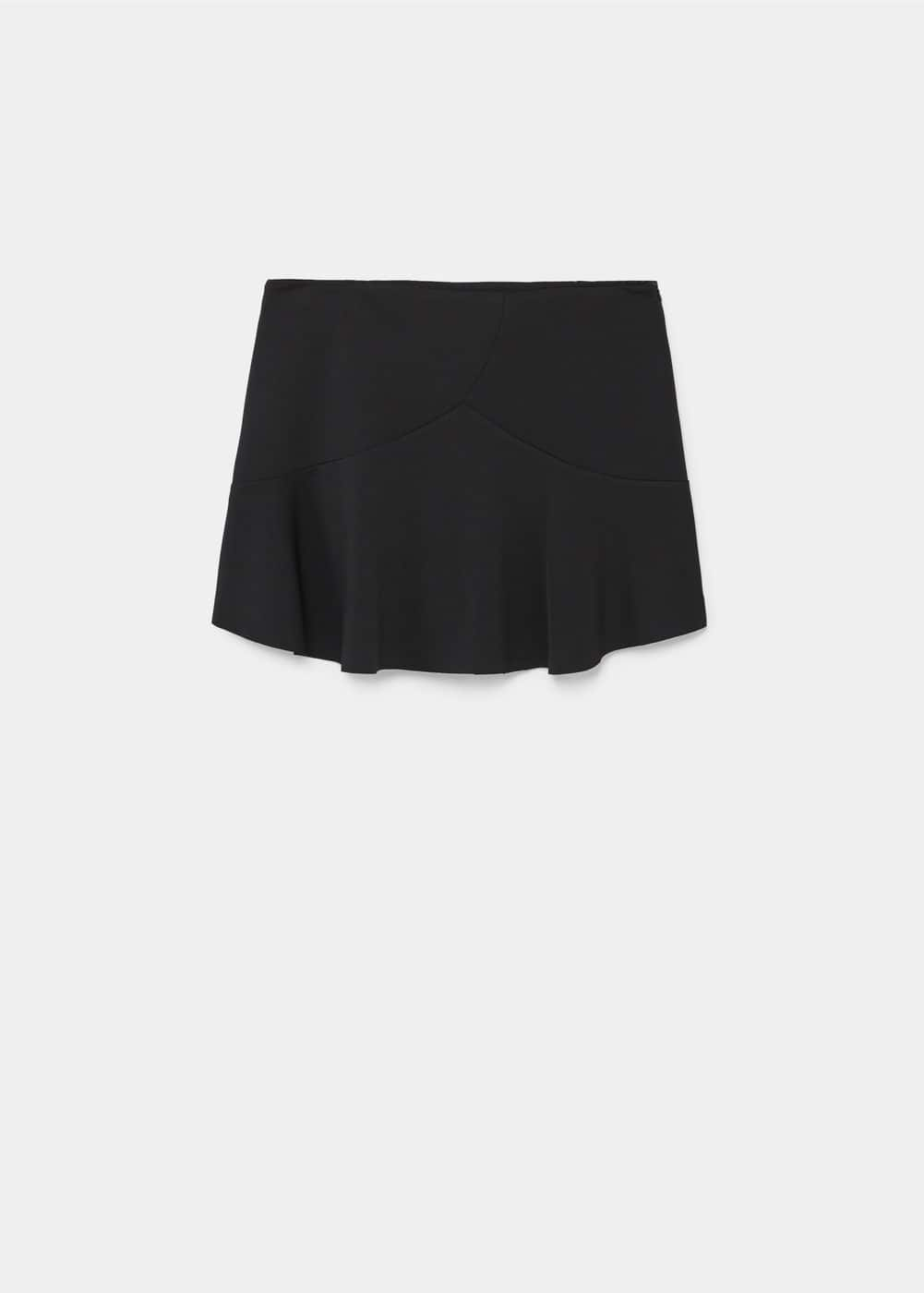 Ruffled mini skirt | MANGO