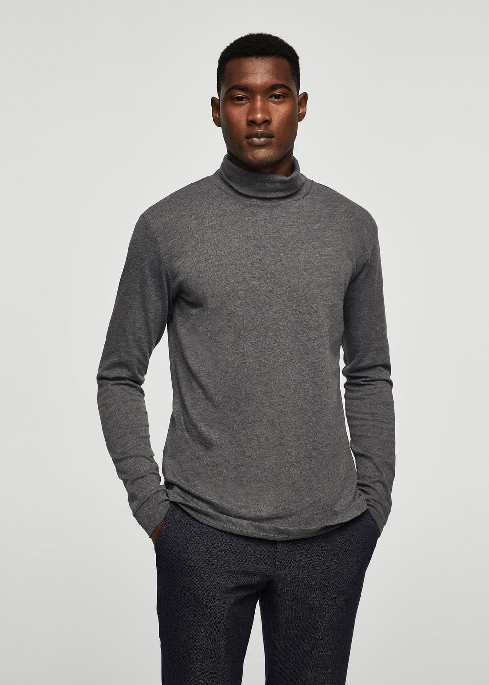 Essential cotton-blend sweater | MANGO
