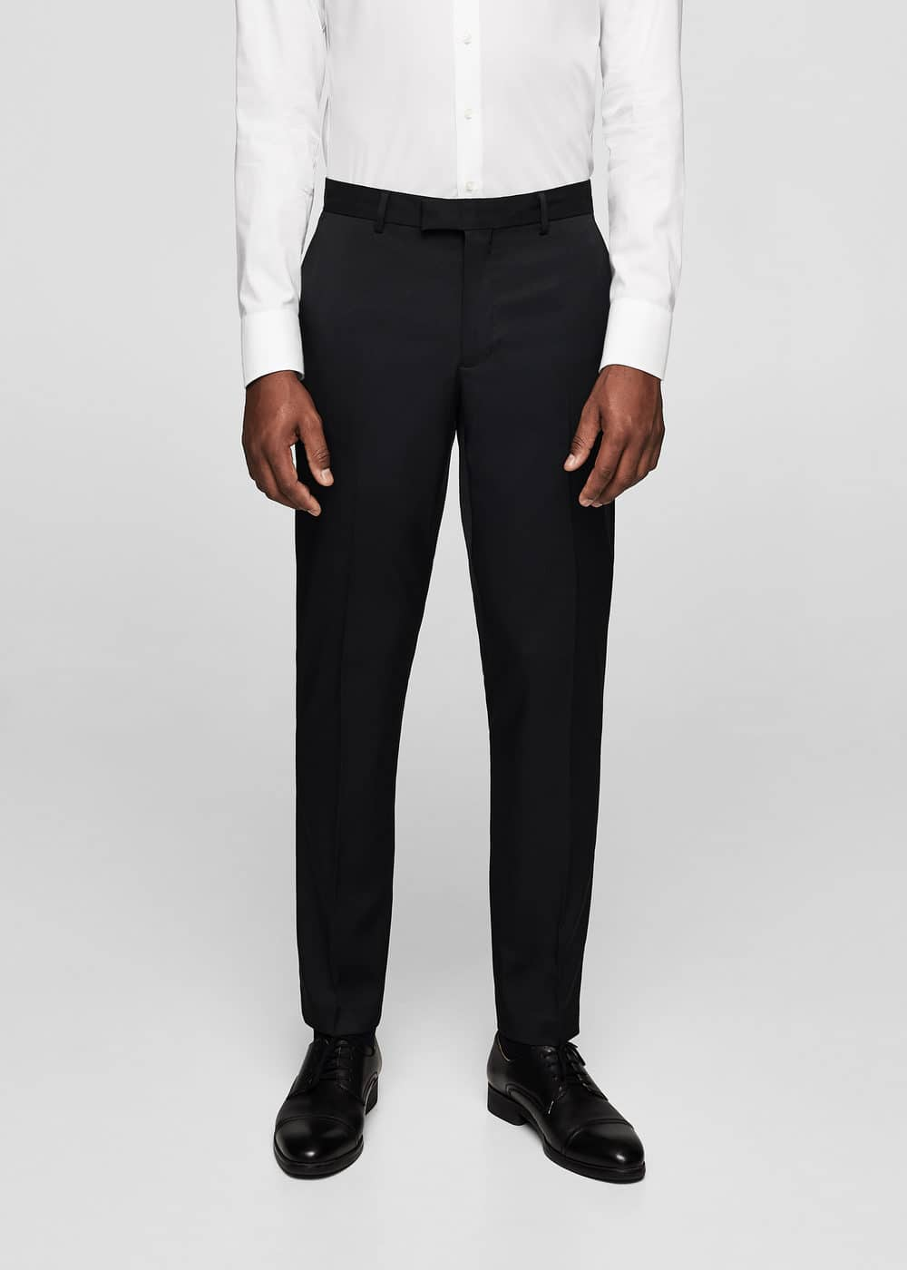 Super slim-fit suit trousers | MANGO MAN