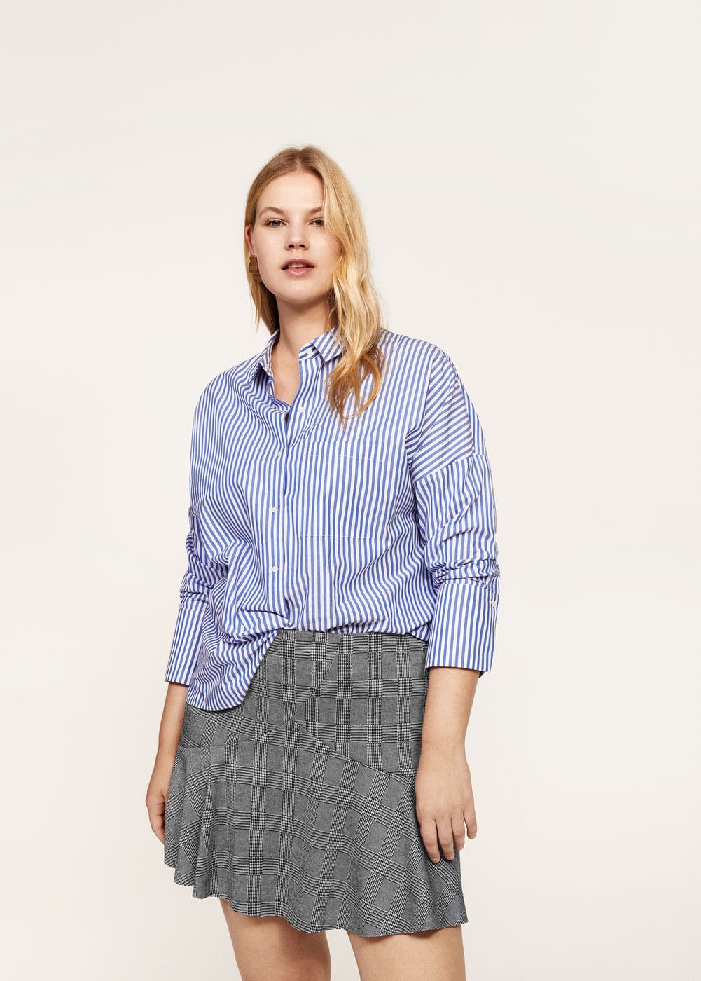 Prince of wales skirt | VIOLETA BY MANGO