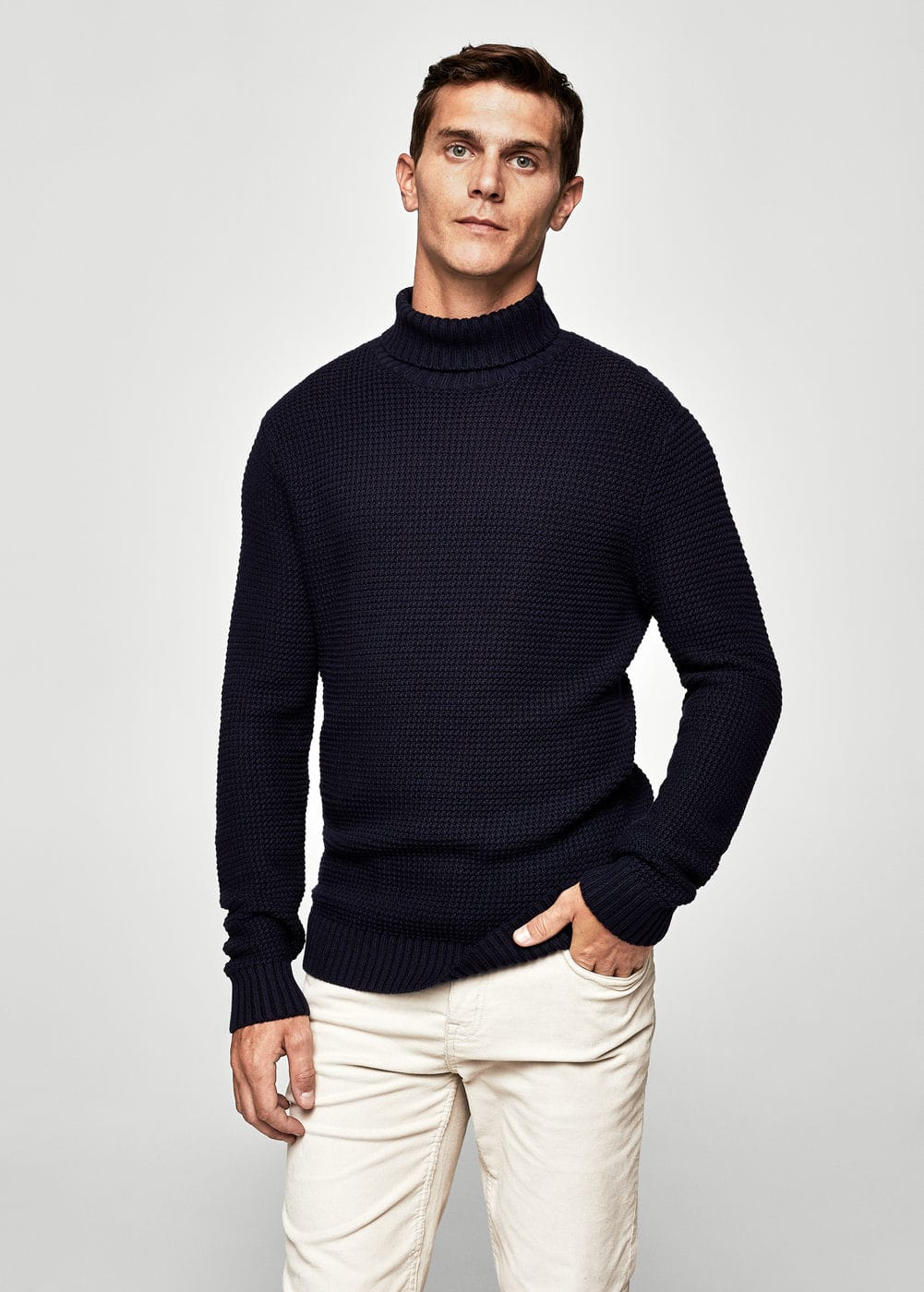 Turtleneck sweater | MANGO MAN
